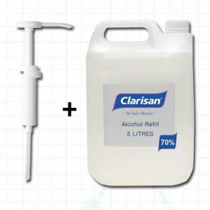 Clarisan Hand Gel and Pelican Pump